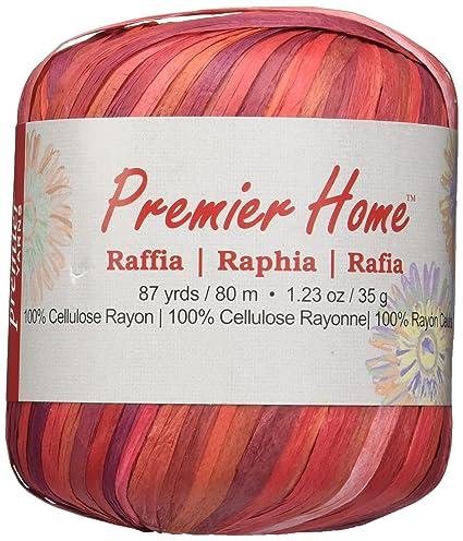 Premier Yarns Raffia Multis Yarn, Embers