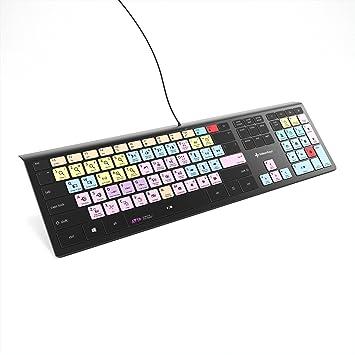 Avid Pro Tools Keyboard for PC | Fully Backlit Windows Shortcut Keyboard |  Editors Keys