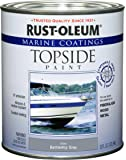 Rust-Oleum 207005 Marine Topside Paint, Battleship Gray, 1-Quart
