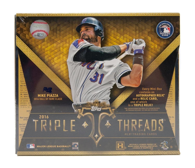 2016 Topps Triple Threads Baseball Hobbyボックス