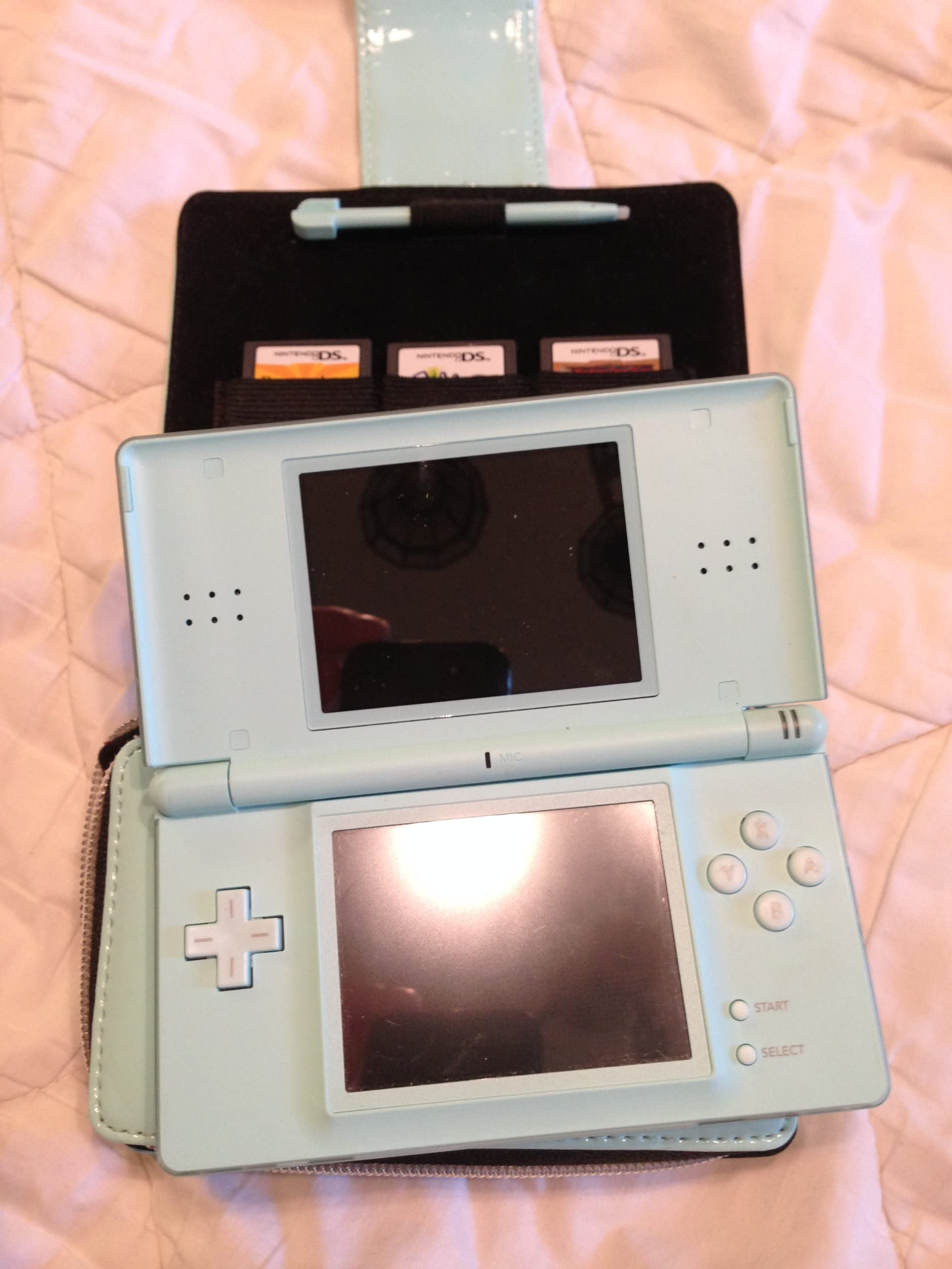 Amazon.com: Nintendo DS Lite Limited Edition Ice Blue with ...