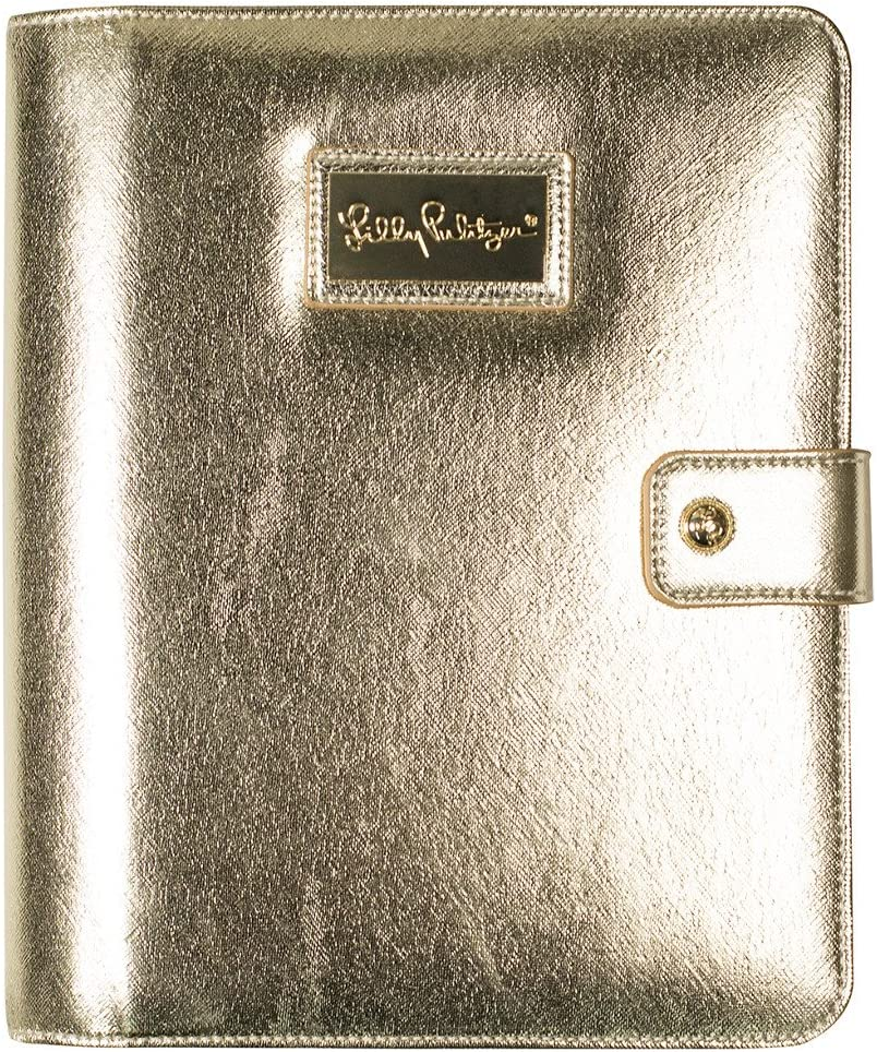 Lilly Pulitzer Agenda Folio, Gold: Amazon.ca: Office Products