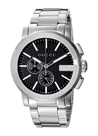 ccd6efe2c1e Gucci G-Chrono YA101204  Amazon.co.uk  Watches