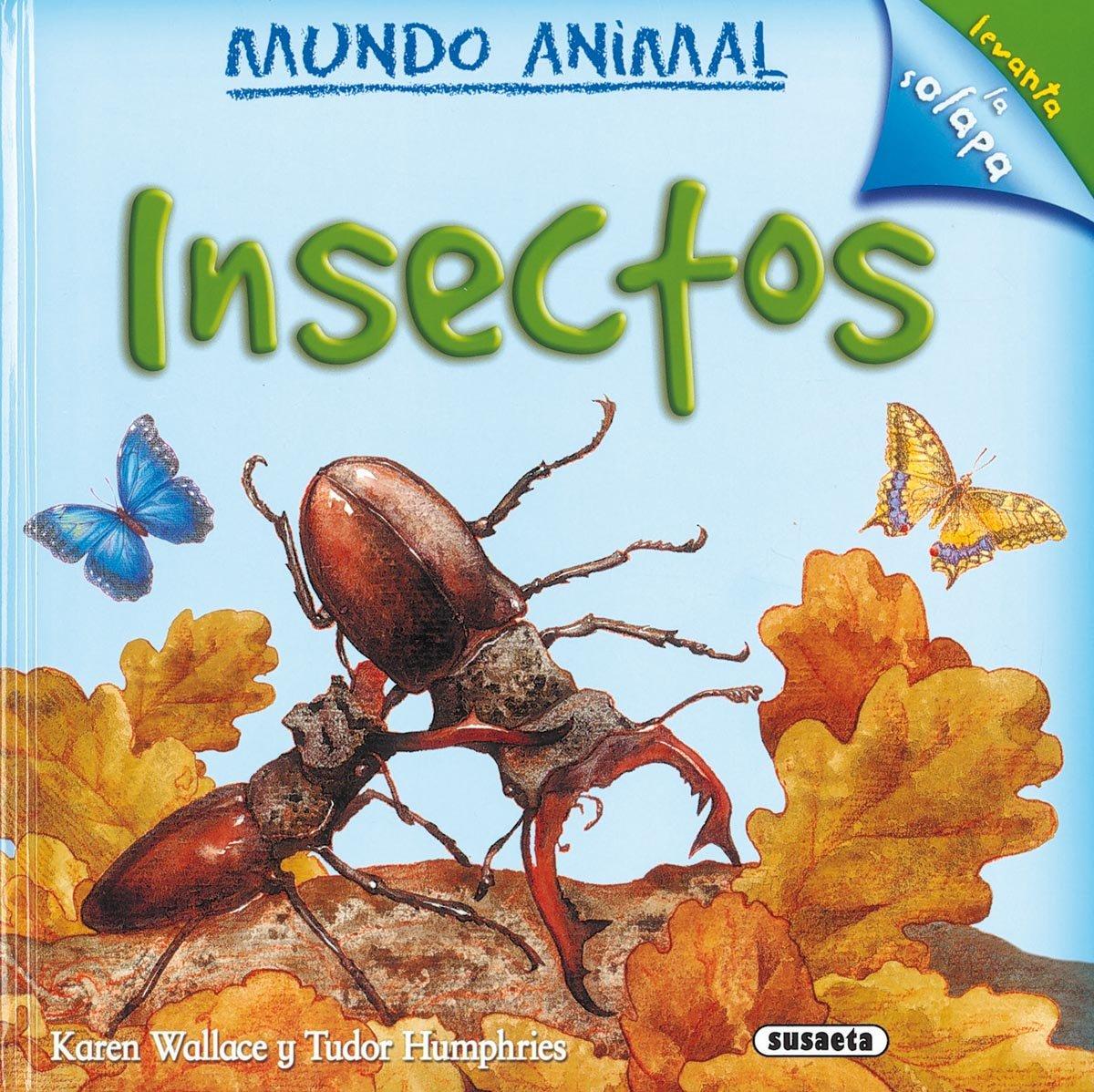 Insectos (Mundo Animal): Amazon.es: Susaeta, Equipo: Libros