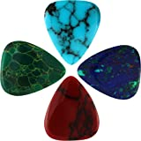Timber Tones STO-MT-4 Guitar Picks, Stone Tones Mixed, 4 Pack
