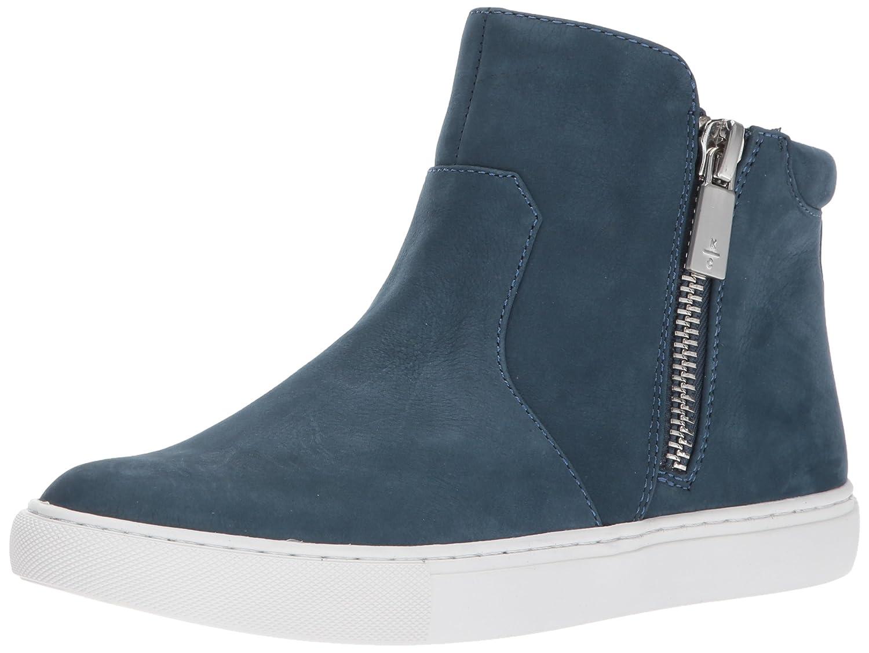 Kenneth Cole New York Women's Kiera High Top Double Zip Nubuck Fashion Sneaker B06WLNJQRJ 8.5 B(M) US|Indigo