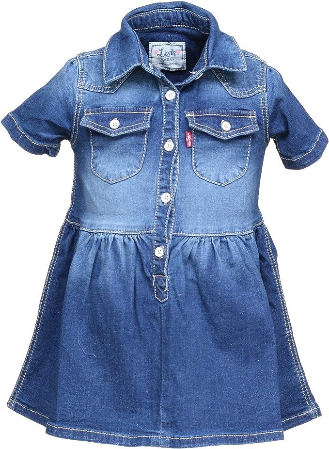 Levi´S - Levis´S Dress DENYA - Vestido Vaquero Bebe NIÑA (18 Meses): Amazon.es: Ropa y accesorios