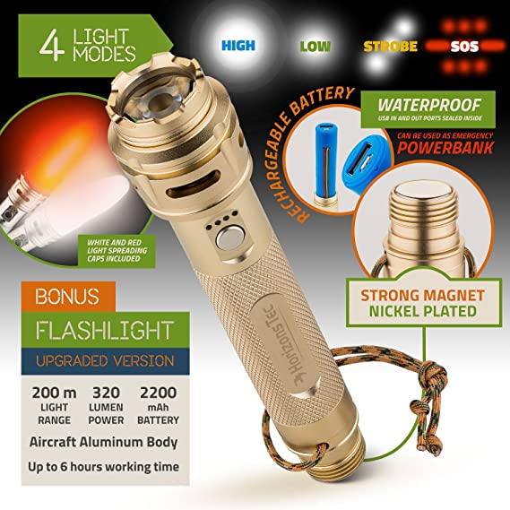 Details about  /Engineering Shovel Multi Function Suit Combination Outdoor Products Flashlight