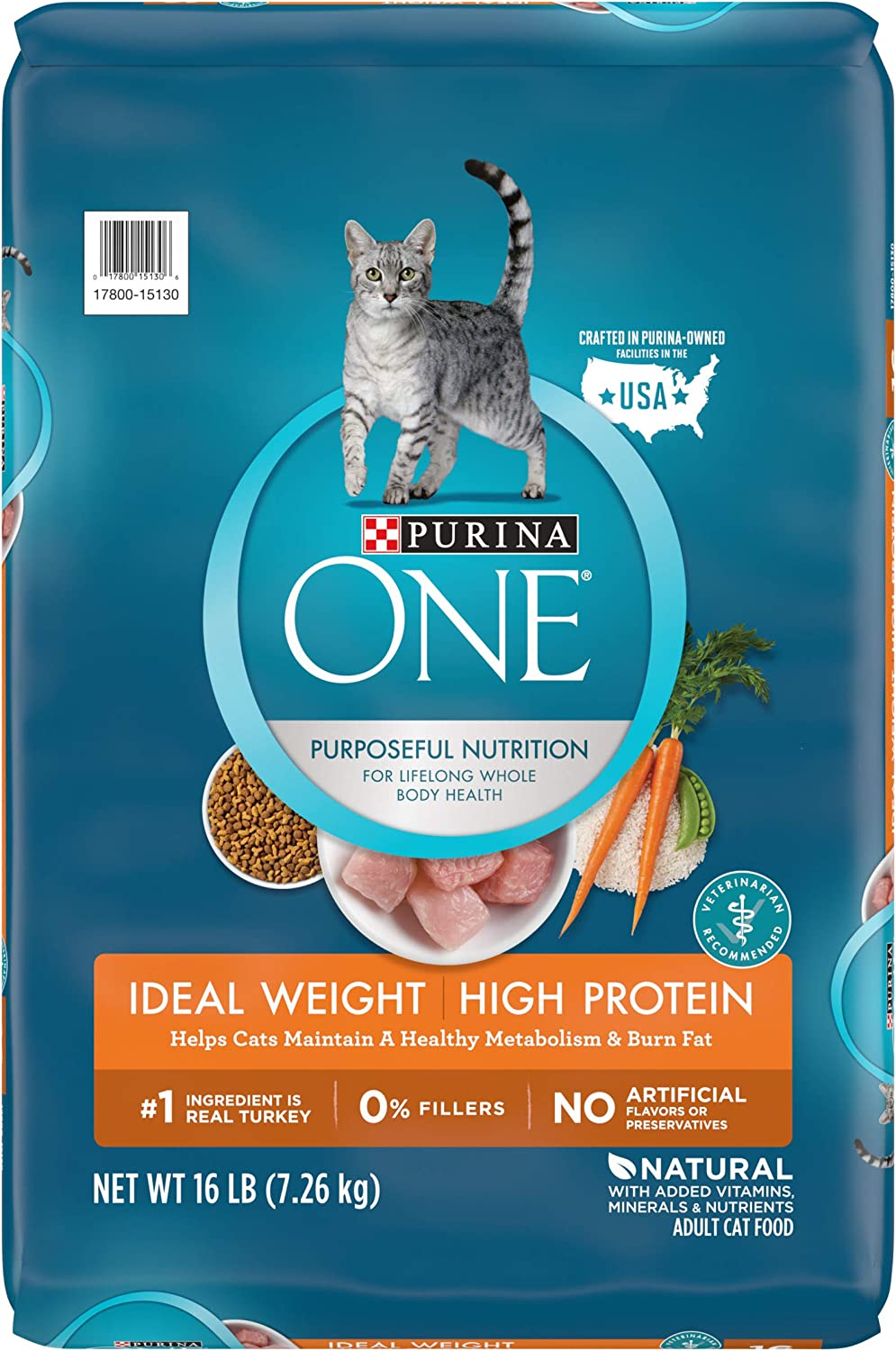 Purina ONE Adult Healthy Metabolism Dry Cat Food & Ideal Weight Wet Cat Food