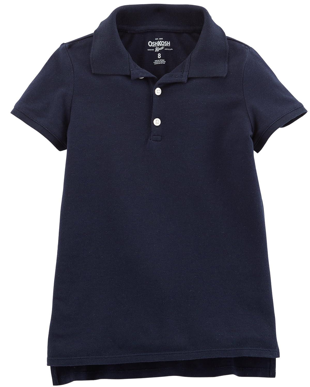 OshKosh BGosh Girls Toddler Short Sleeve Uniform Polo Osh Kosh