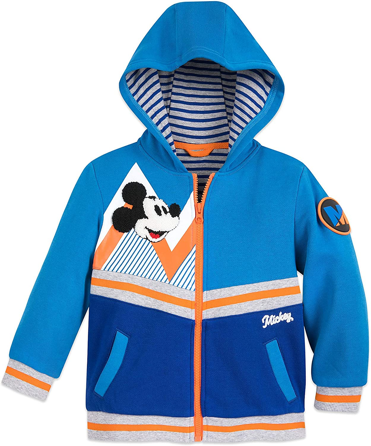Disney Latest item Mickey Mouse Hoodie for Blue Max 57% OFF Boys