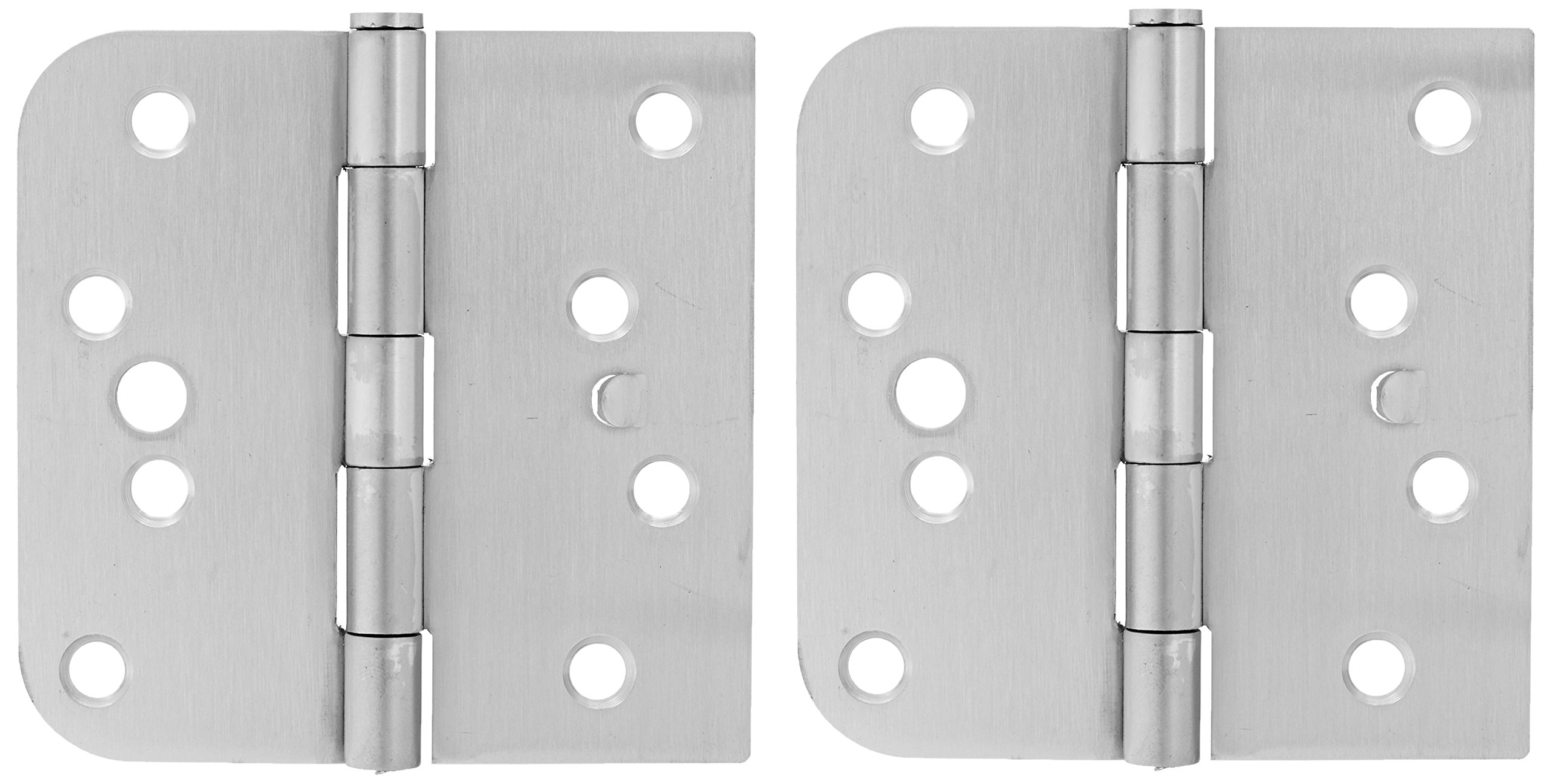 Deltana SS44058TA32D-LH Stainless Steel 4-Inch x 4-Inch x 5/8-Inch Square Hinge