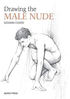 Nude Male Drawings Visual Reference Book Naked Men From
