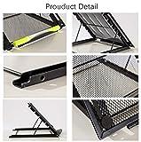 Ventilated Adjustable Light Box Laptop Pad