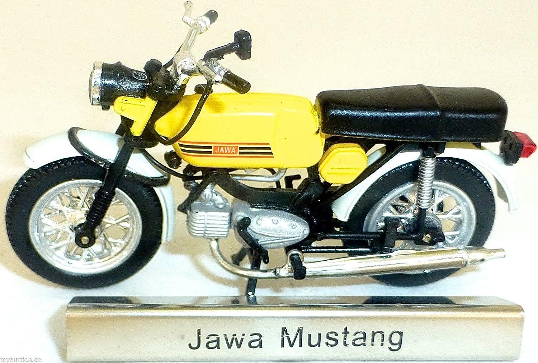 Atlas 1:24 MOTO JAWA Mustang GIALLO