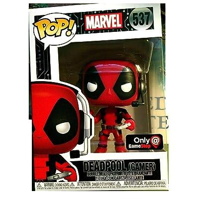 Funko Pop! Deadpool Gamer 537 Exclusive Vinyl Figure: Toys & Games