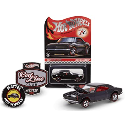 Hot Wheels 2020 Redline Club Kit with Black Custom Camaro Limited Edition 1:64 Scale Collectible Die Cast Metal Toy Car Model RLC: Toys & Games