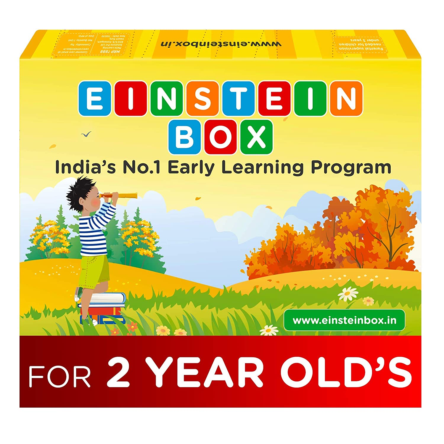 Buy Einstein Box For 2 Year Old Baby Boys And Girls Learning And Educational Gift Pack Of Toys And Books Multicolour Online At Low Prices In India Amazon In