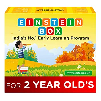 Einstein Box for 2 Year Old Baby Boys and Girls, Learning and Educational Gift Pack of Toys and…