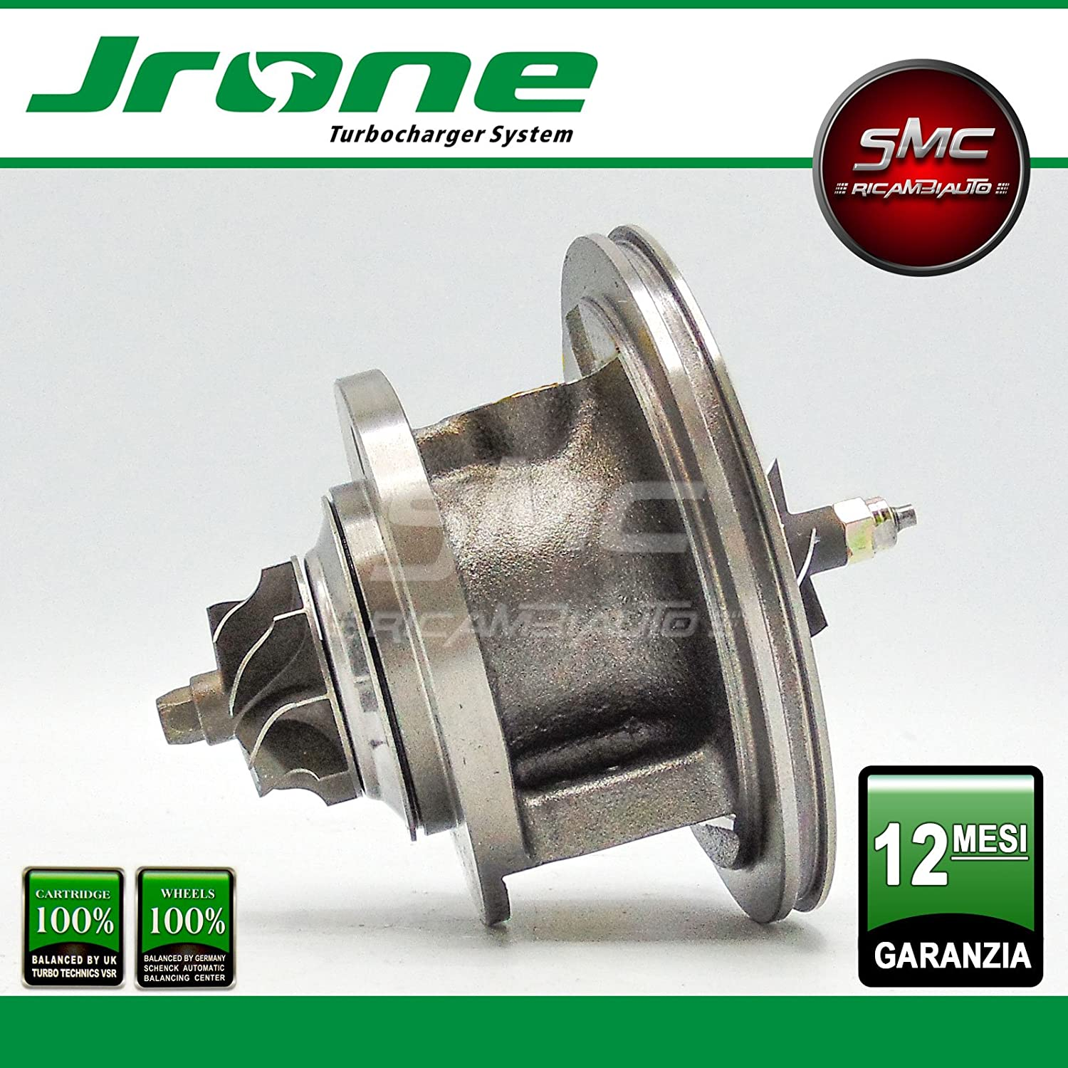 1000 - 030 - 021 coreassy Original JRONE Turbo Compresor turbina Garret: Amazon.es: Coche y moto
