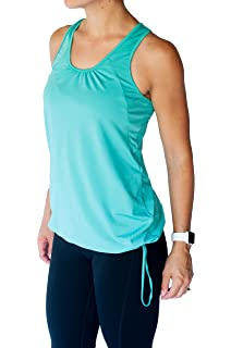 61d03766548ab TEMA Athletics Women s Plus-Size Tank Top Solid Bungee Activewear Yoga  Workout Gym