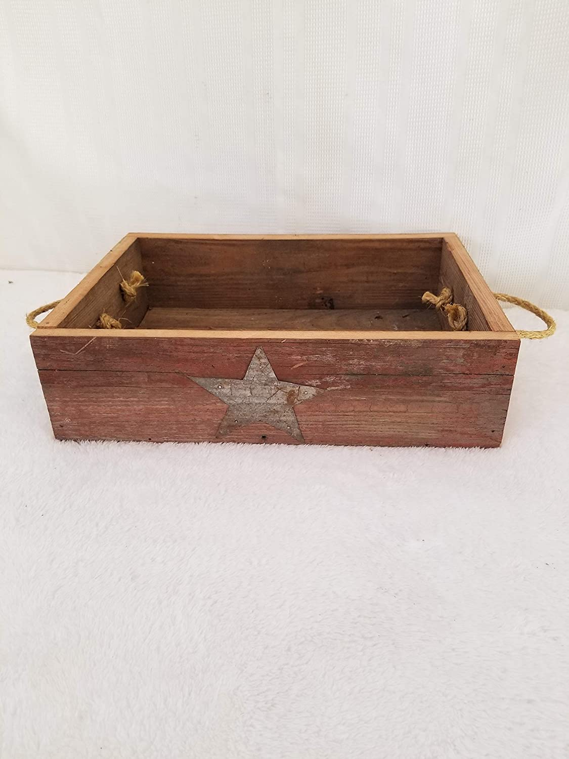 Barnwood Tray. This Amish Handmade Barnwood Tray Is a Unique Way to Accent Your Home Decor. You Can Add Many Different Primitive Items to It to Create a Stunning Masterpiece for Your Home Decor KENZIE' S STARS AND GIFTS