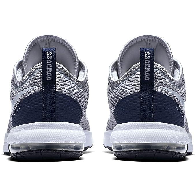 a98be0129c2e Amazon.com  Dallas Cowboys Mens Nike Air Max Typha 2 Training Shoe  Sports    Outdoors