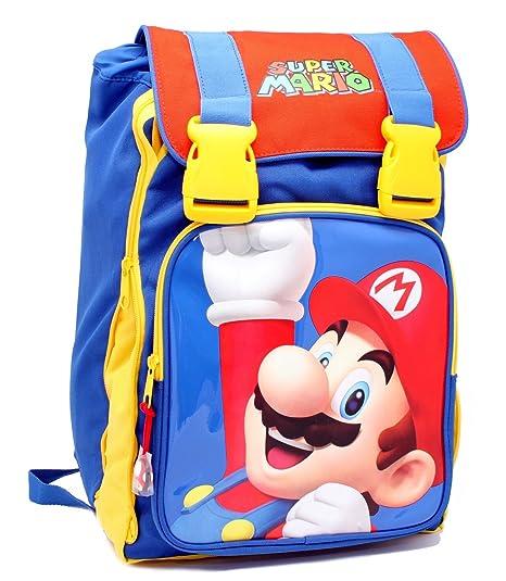 dc920700e Zaino Scuola Estensibile Super Mario Kids: Amazon.it: Giochi e ...
