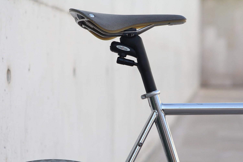 BIKE ORIGINAL Interlock Tija de Sillin de Bicicleta con Cable de ...