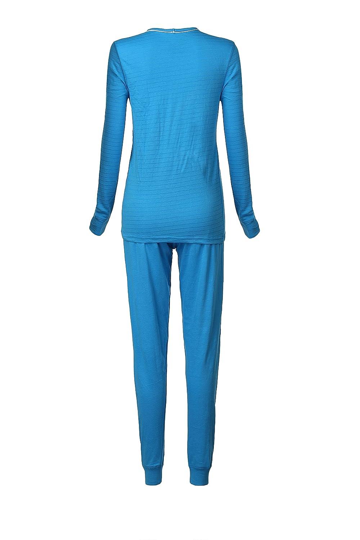 2 Piece Set Top and Bottom Ladies Ski Long Johns Thermal Underwear