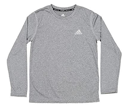 7f596f99979 Amazon.com  adidas Boys 8-20 Tight-Fit Performance Tee  Clothing