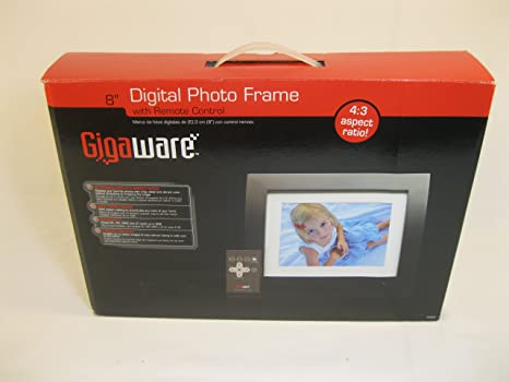 "Gigaware 16-953 8"" Digital Photo Frame"
