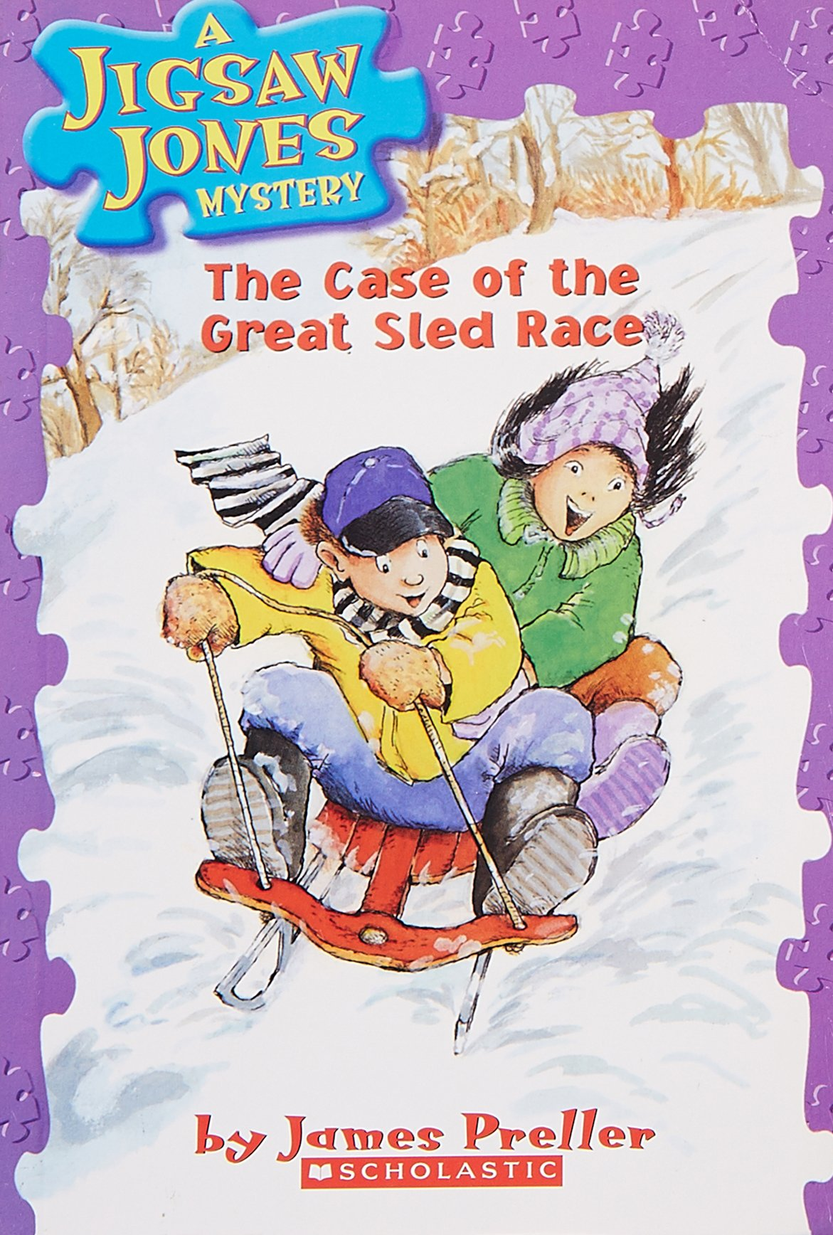 A Jigsaw Jones Mystery#08 The Case Of The Great Sled Race pdf