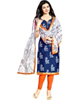 Mrinalika Fashion Women's Cotton Dress Material