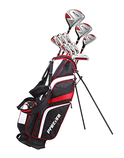 Used Ladies Golf Clubs >> Amazon Com 15 Piece Ladies Womens Complete Golf Clubs Set Titanium