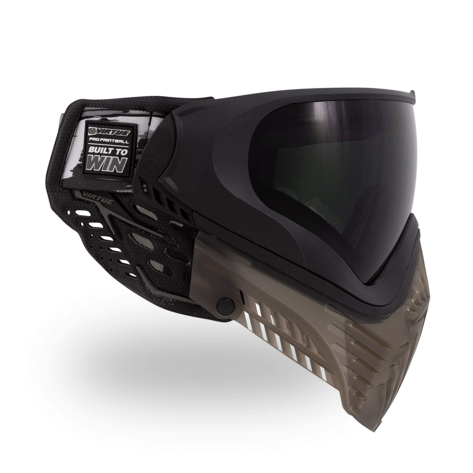 Virtue VIO XS II Thermal Paintball Goggles/Masks - Black Smoke by Virtue Paintball