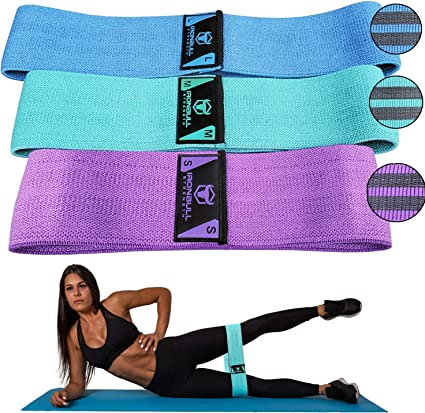 Amazon Com Resistance Bands For Legs And Butt Hip Circle Bands