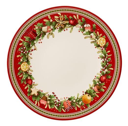 3 opinioni per Villeroy & Boch Winter Bakery Delight Piatto Piano, 27 cm, Porcellana,