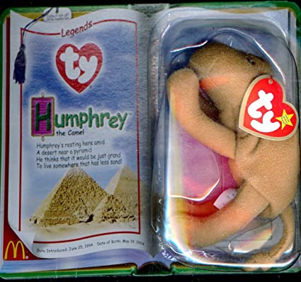 de9ae59ca67 Image Unavailable. Image not available for. Color  Humphrey the Camel  McDonald s Ty Teenie Beanie SuperStar 2000