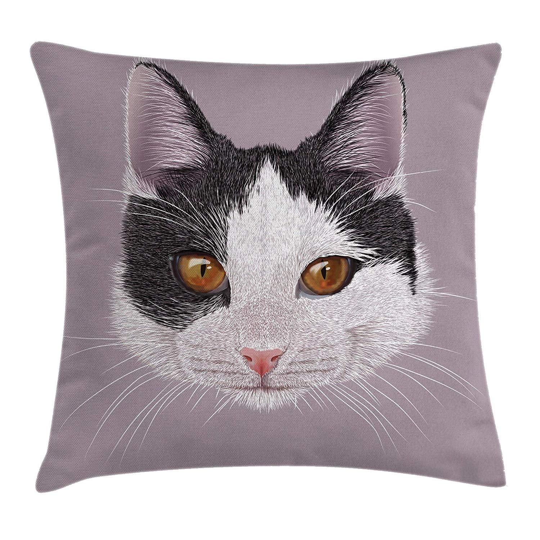 Amazon.com: XGUPKL Animal Throw Pillow Cushion Cover, Cute ...