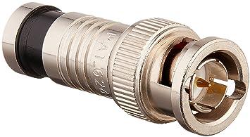RG59-4 10 BNC crimp Stecker m 20 oder 50 Stück