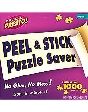 Buffalo Games Puzzle Presto Peel and Stick Saver, 6 Sheets