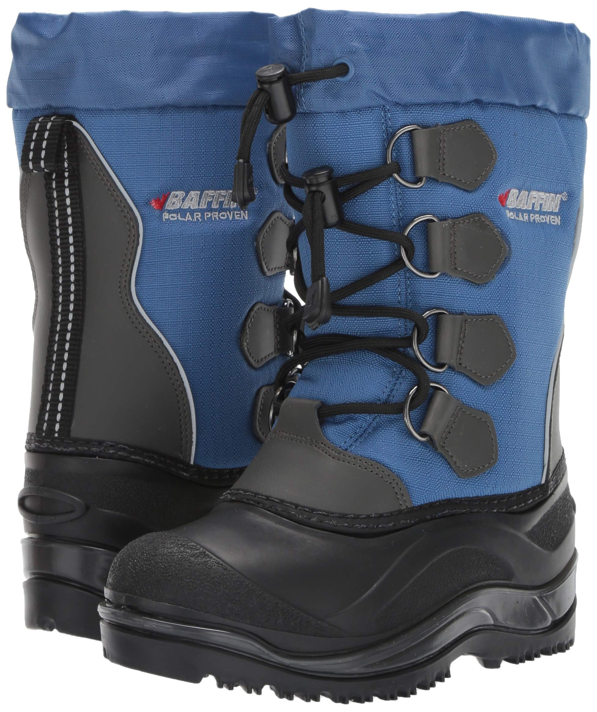 Baffin Unisex SNOWPACK Snow Boot, Blue, 2 Youth US Little Kid by Baffin (Image #6)