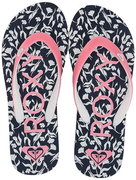 86e5d7fd40 Roxy Kids' Rg Tahiti Flip Flop Sandal