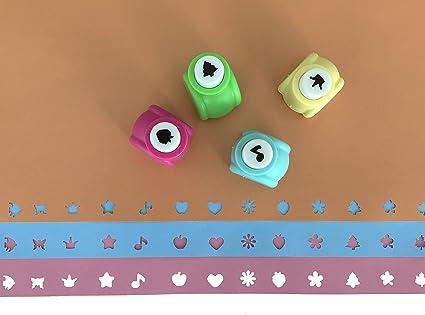 Exerz Perforadores para Arte y Manualidades 14 Piezas hágalo Usted Mismo – Viene con Estuche de Almacenamiento (Rosa, 14 Piezas): Amazon.es: Hogar