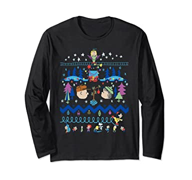 unisex vietees peanuts ugly christmas sweater t shirt small black
