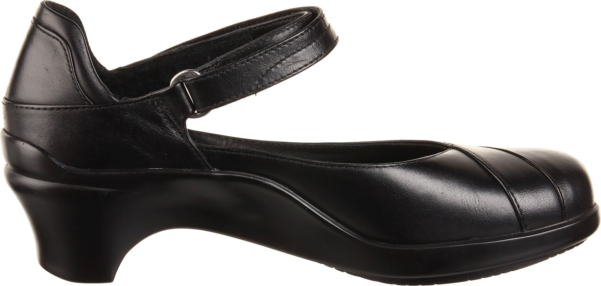 Aravon Womens Maya Pump,Black Leather,10.5 M (B) US by Aravon (Image #6)