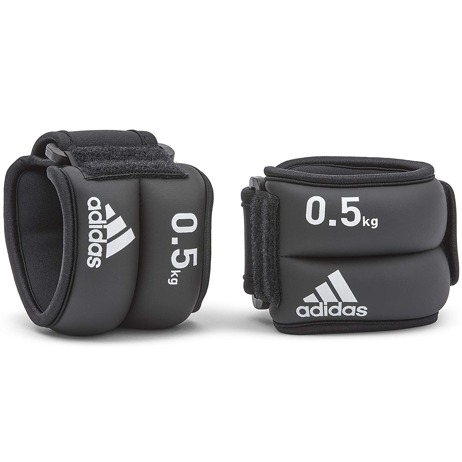 4d61005da8d9 Amazon.com   adidas Ankle and Wrist Weights 0.5 kg   Exercise ...