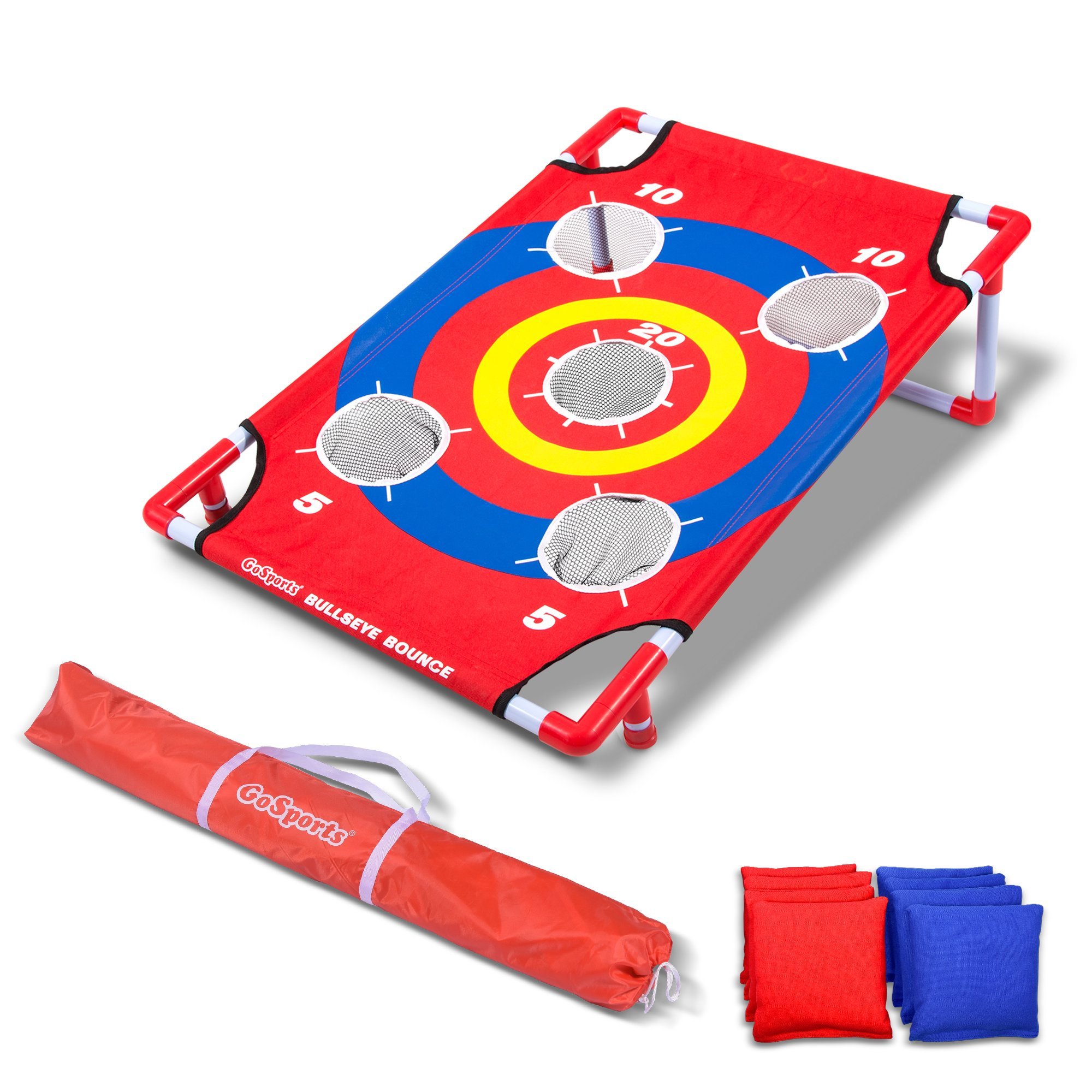GoSports Bullseye Bounce Cornhole Toss Game - Great for All Ages & Includes Fun Rules by GoSports