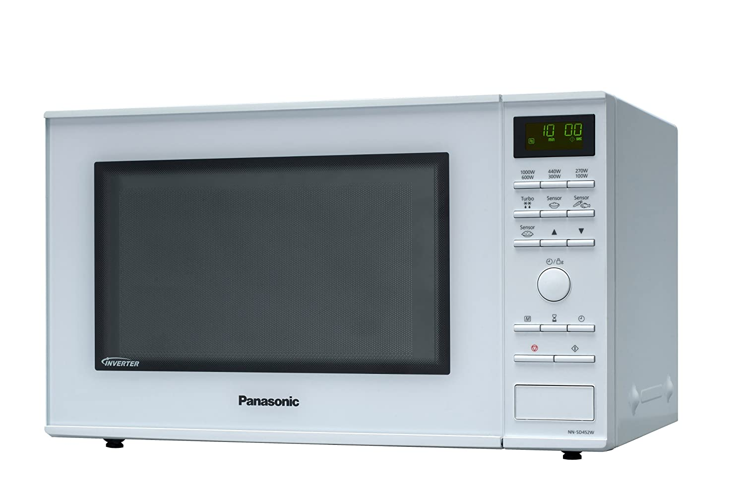 Panasonic NN-SD452WEPG - Microondas (1000W, 32 litros), color Blanco: Amazon.es: Hogar